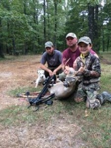 Thistle Ridge Jasper had a great first season in Arkansas with the Davis family!